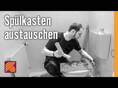 Cool Version 2013 Spülkasten austauschen | HORNBACH Meisterschmiede  UB16