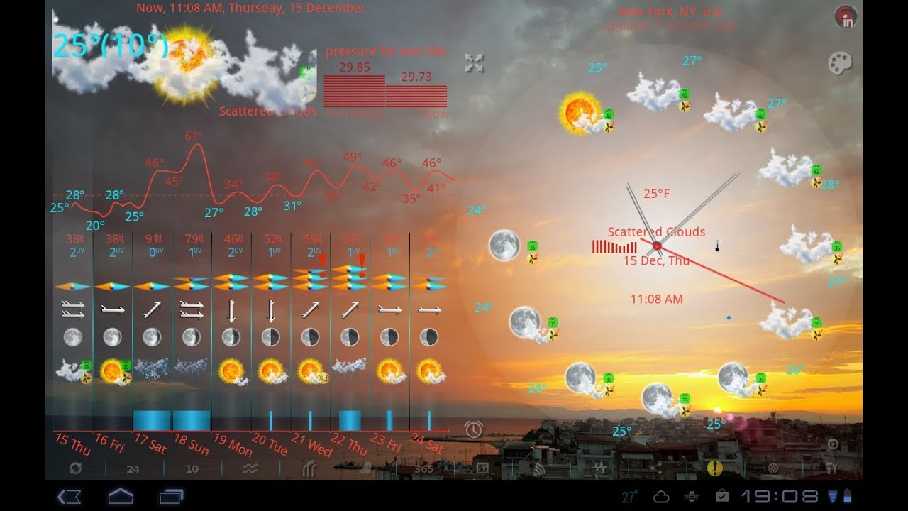 Elecont Weather, USA Radar, Alerts, Barometer, Earthquakes with