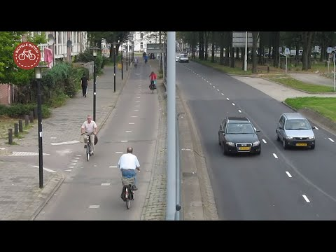 How the Dutch got their cycle paths