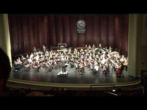 2018 NC 9-10 All State Honor Band Performance