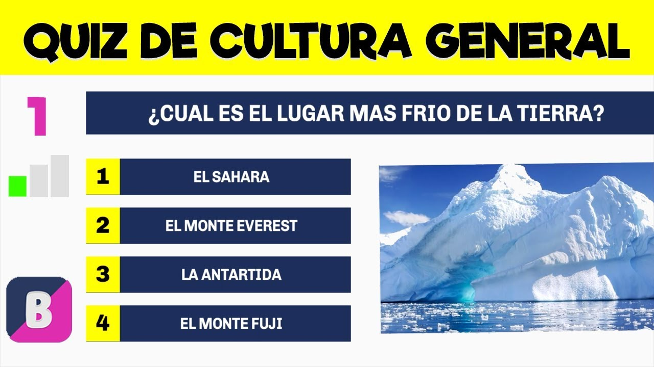 Cuanto Sabes De Cultura General Nivel Facil 001 Youtube