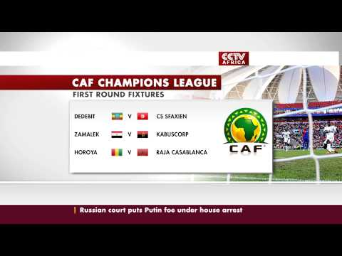 Confederation of African Football Weekend Fixtures