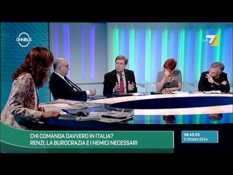 Omnibus - Chi comanda davvero in Italia? (Puntata 05/10/2014)