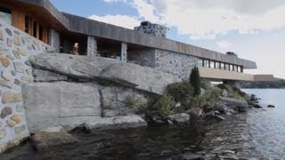 $19 Million Frank Lloyd Wright House On A Private Island