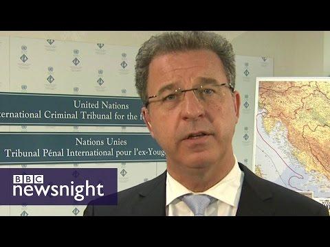 Karadzic Prosecutor: 'Justice has been done' - BBC Newsnight