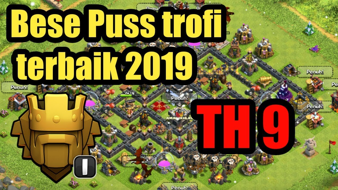 Base Coc Th 9 Terkuat 9