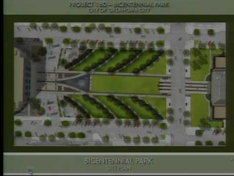 OKC City Council 2.21.2012 - Report on Bicentennial Park