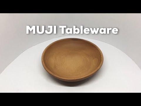 MUJI Wooden Tableware