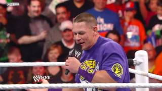 John Cena and Jerry the king Lawler owns Vicki Guerrero!