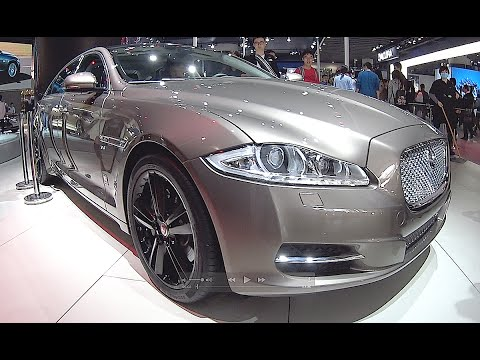 new video jaguar xj l 2016 2017 interior exterior youtube. Black Bedroom Furniture Sets. Home Design Ideas