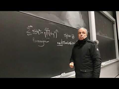 Ν. Λυγερός - Συνάρτηση Ramanujan. Massachusetts Institute of Technology, Boston, 08/12/2018
