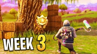 Follow The Treasure Map Found in Salty Springs (Week 3 Challenge) - Fortnite: Battle Royale