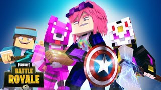 Minecraft: VINGADORES NO FORTNITE !!! - FORTNITE #05 ‹ Goten ›