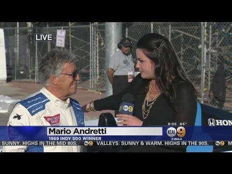 Formula 1 Legend Mario Andretti Discusses 'Magic' Of Long Beach Grand Prix