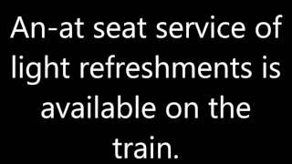 Sheffield Station announcements part 2