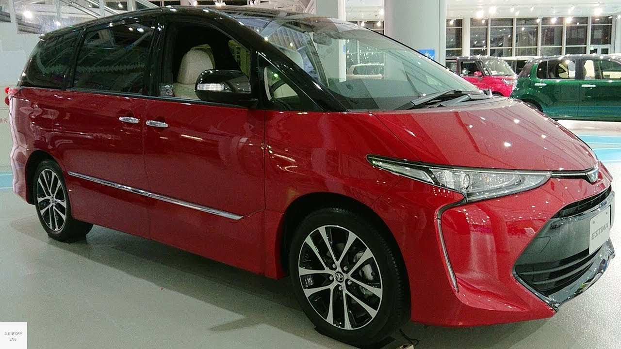 2020 Toyota Estima New Model and Performance
