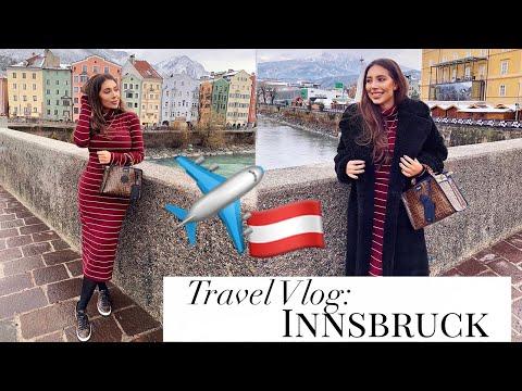 Travel Vlog: INNSBRUCK || Luxury Shopping With Mom, Crystals, Zara & Sightseeing