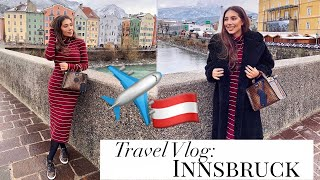 Travel Vlog: INNSBRUCK || Luxury Shopping With Mom, Crystals, Zara & Sightseeing