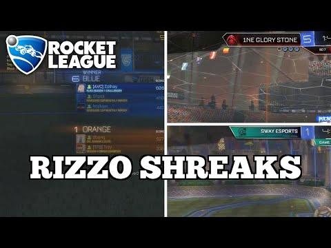 Sick Rocket League Plays: RIZZO SHREAKS thumbnail