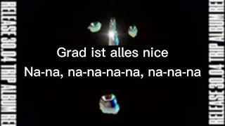 CRO - NICE! (Lyrics)