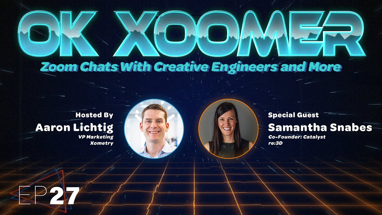 Ok Xoomer EP27   Samantha Snabes   3D Printing With Garbage: The Story of re:3D