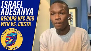 Israel Adesanya addresses pectoral controversy, Jon Jones trash talk at UFC 253 | ESPN MMA