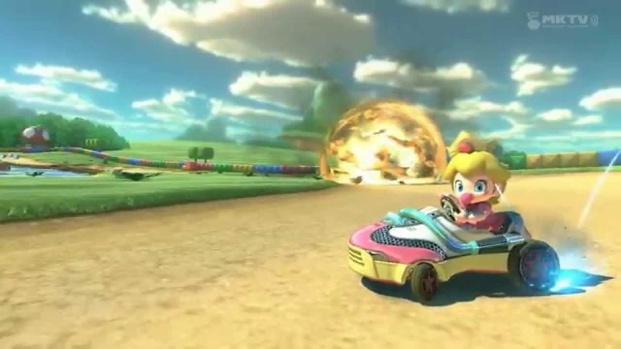 Baby Mario Mario Kart 8: Badass Baby Peach