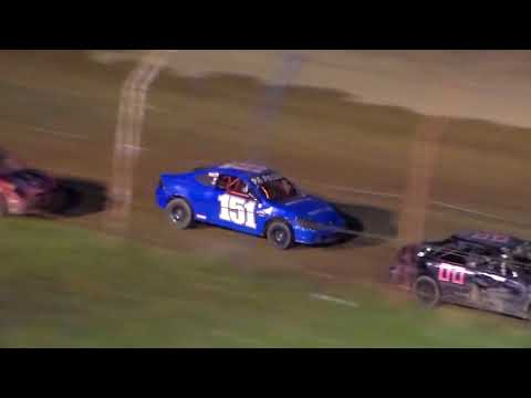 Dog Hollow Speedway - 10/21/17 Four Cylinder Heat Race #3
