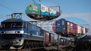 東海道本線 貨物撮影記 2020.1.18