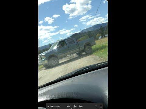 Exit blocked by an alleged Drug Dealer in Grindrod BC (info in description)
