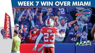 Breaking Down the Buffalo Bills' Week 7 Win Over the Miami Dolphins | Bills Tonight