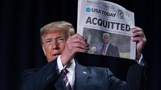 LIVE: President Trump Makes a Statement After Senate Acquittal 2/6/20