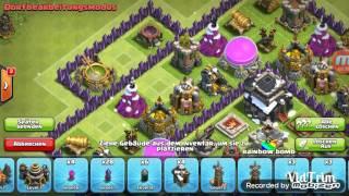 #clash of clans / Rh9 Trophy base