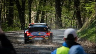 POWER STAGE | WRC CROATIA RALLY | FLAT OUT & JUMP| Kumrovec-Zagorska Sela