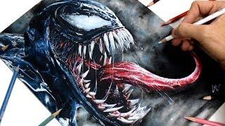 Cómo dibujo a VENOM (2018)   Venom nueva película