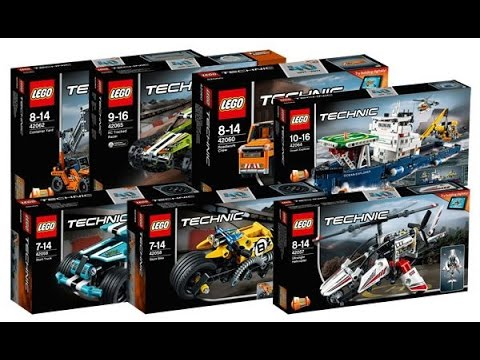 lego technic winter 2017 sets official images youtube. Black Bedroom Furniture Sets. Home Design Ideas