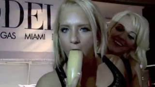 Two Porn Stars, One Banana