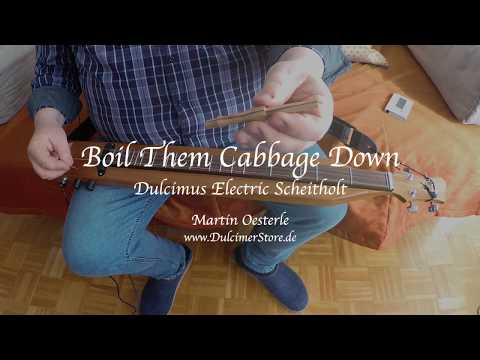 Boile them cabbage down