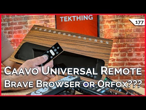Best $500 Laptop! Brave Browser, Orfox, or Firefox Focus??? Caavo Smart Remote vs. Logitech Harmony