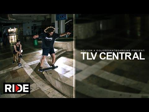 Dream Skate Session Inside Tel Aviv Central Bus Station - TLV Central