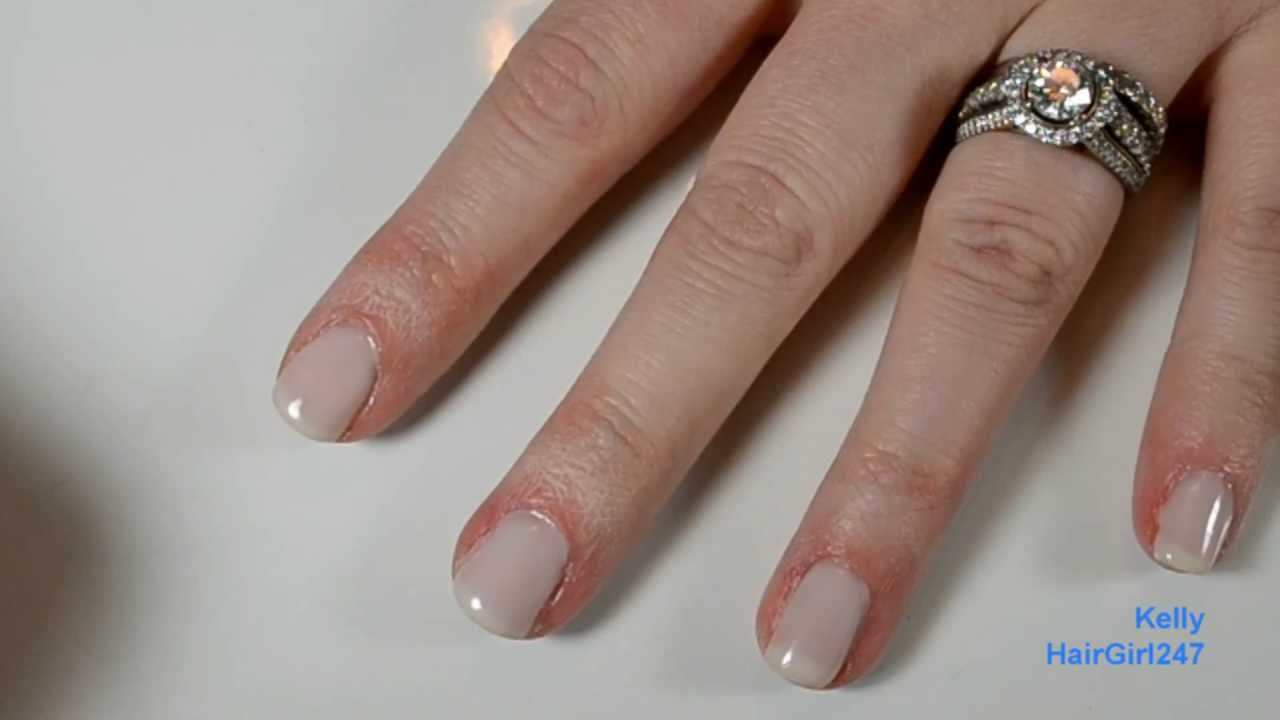 Sally Hansen Salon Gel Polish Starter Kit Tutorial - YouTube
