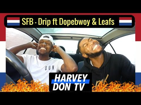 SFB - Drip Ft Dopebwoy & Leafs Reaction Harvey Don TV @raymanbeats