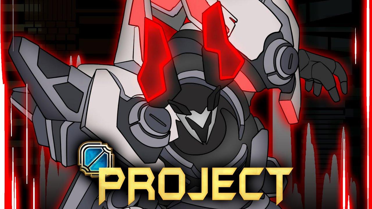 롤 애니메이션 - 원딜담당 일진 모데 (Project Mordekaiser league of legend animation 흉포로)