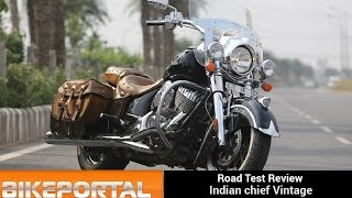 Indian Motorcycle Chief Vintage Test Ride Review- Bikeportal