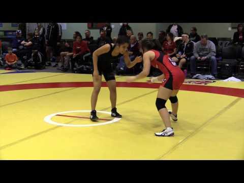 2014 Wesmen Open: 48 kg Kaitlin Kucharski vs. Maciel Ramirez