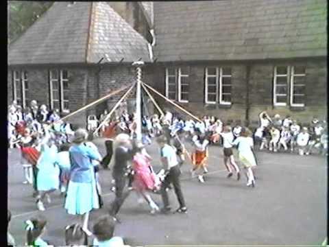 May Day, James Street Primary School, Thornton. Circa 1984(?)