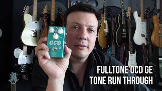 Fulltone Effects OCD Ge run through