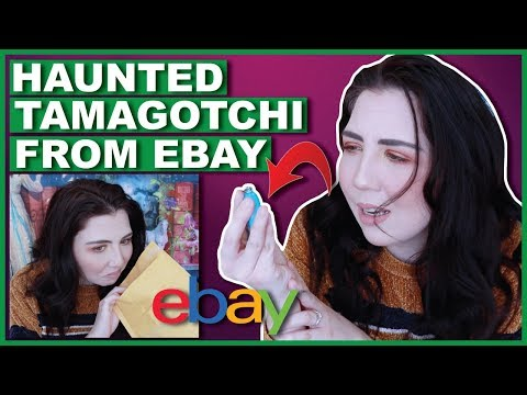 I Bought A Haunted Tamagotchi From Ebay (Unboxing It)
