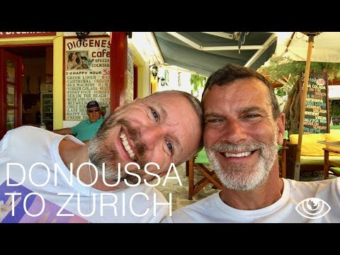 Donoussa to Zurich / Greece Travel Vlog #206 / The Way We Saw It
