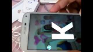 Panasonic P41 Android Phone Unboxing And Overview